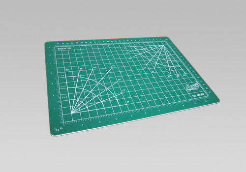 Self-Healing Double Sided Cutting Mat - Green - 8.5 x 12''