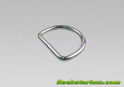 Welded D-Ring, 1/8 x 1 inch