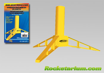 Plastic Rocket Display Stand (for 18 mm motors). 3 pack