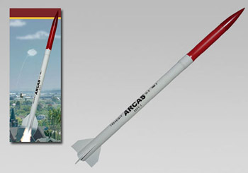 Frangible Arcas Model Rocket Kit