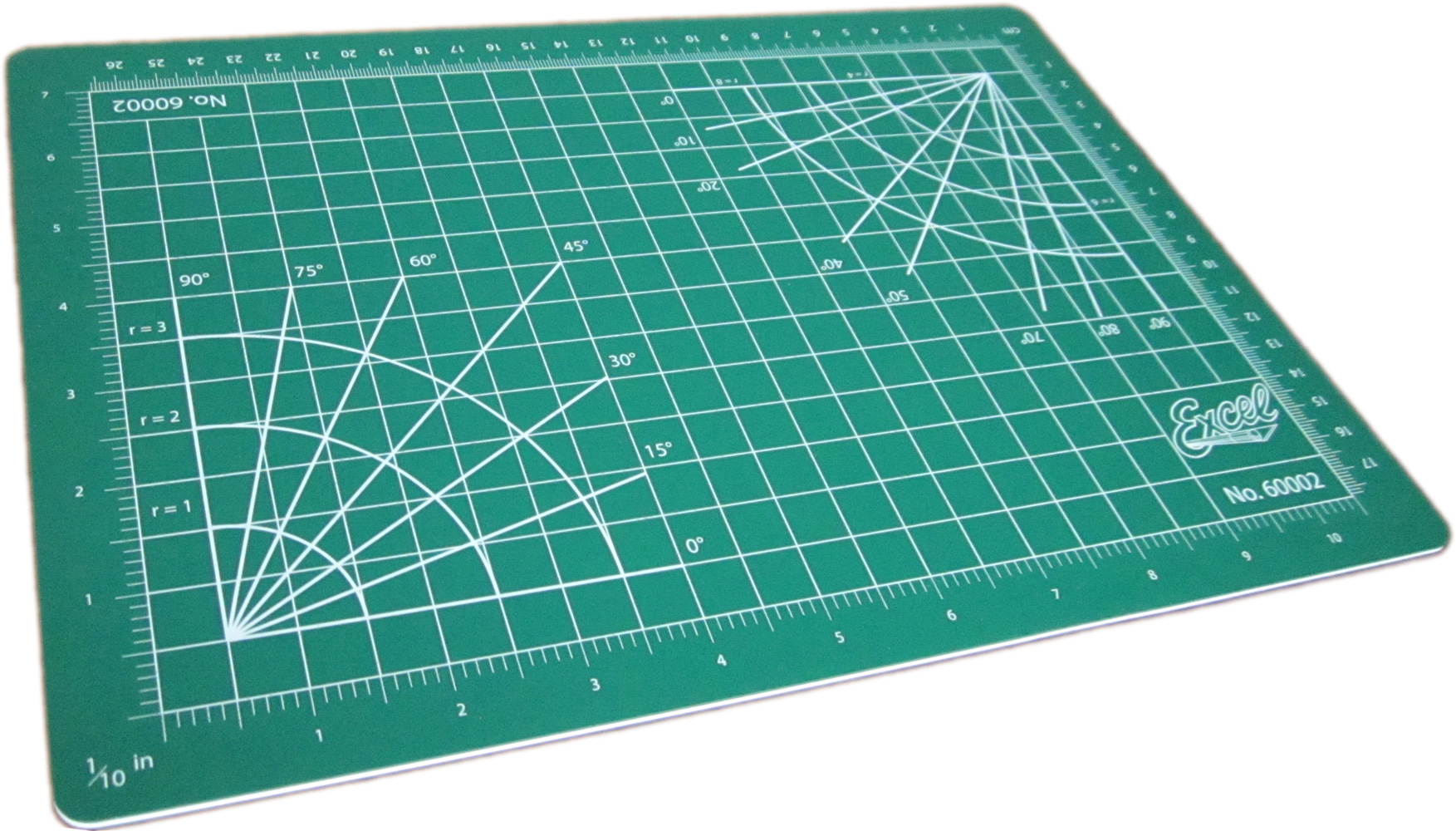 Self-Healing Double Sided Cutting Mat - Green - 8.5 x 12'' - Click Image to Close