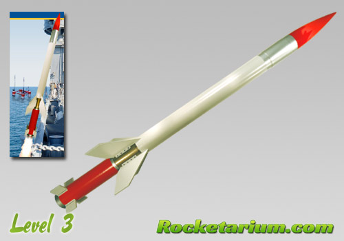 Hydra Sandhawk Model Rocket