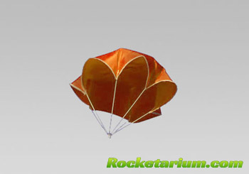 how to make a small plastic parachute