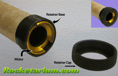 Motor Retainers : Rocketarium Model Rocket Kits, parts and launch